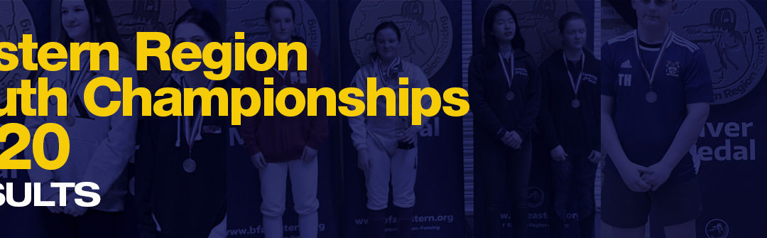 Results of the Eastern Region Junior Championships/British Youth Championship qualifiers 2020