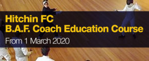 Hertfordshire B.A.F. Coach Education Course @ Westminster Lodge Leisure Centre | England | United Kingdom